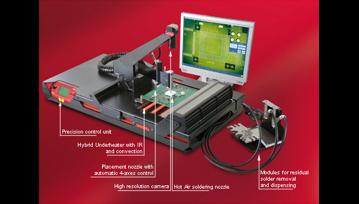 Servis i zamena mikro BGA čipova