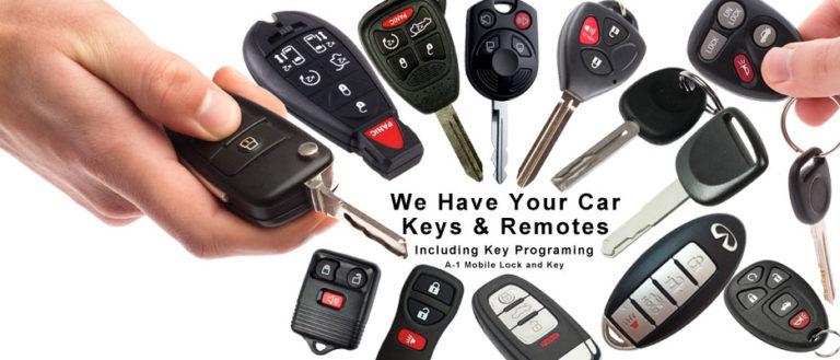 Servis auto ključeva i daljinskih upravljača